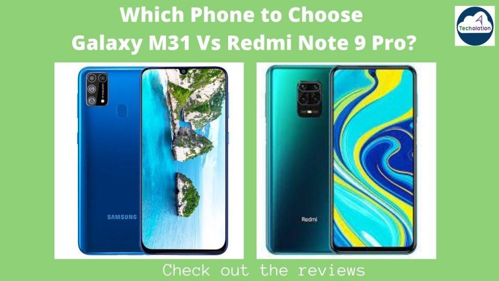 Galaxy M31 Vs Redmi Note 7 Pro