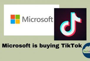 Microsoft is buying TikTok
