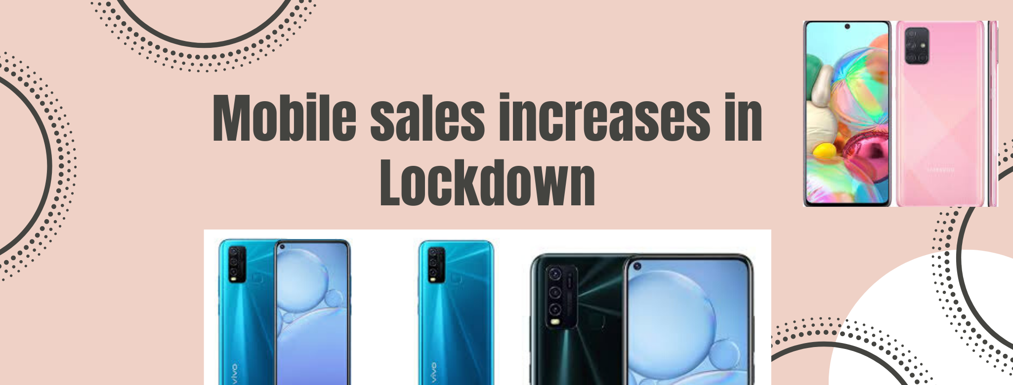 Mobile sales increases in Lockdown