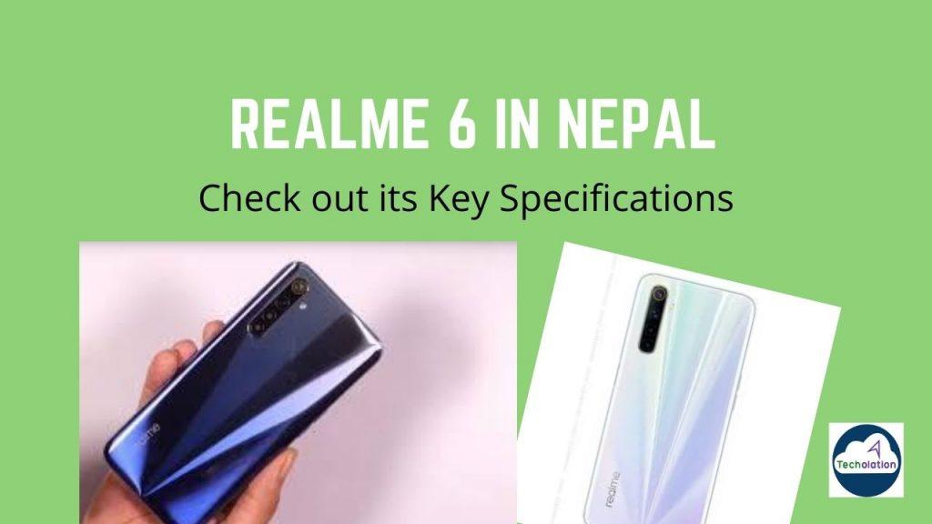 Realme 6 release in Nepal