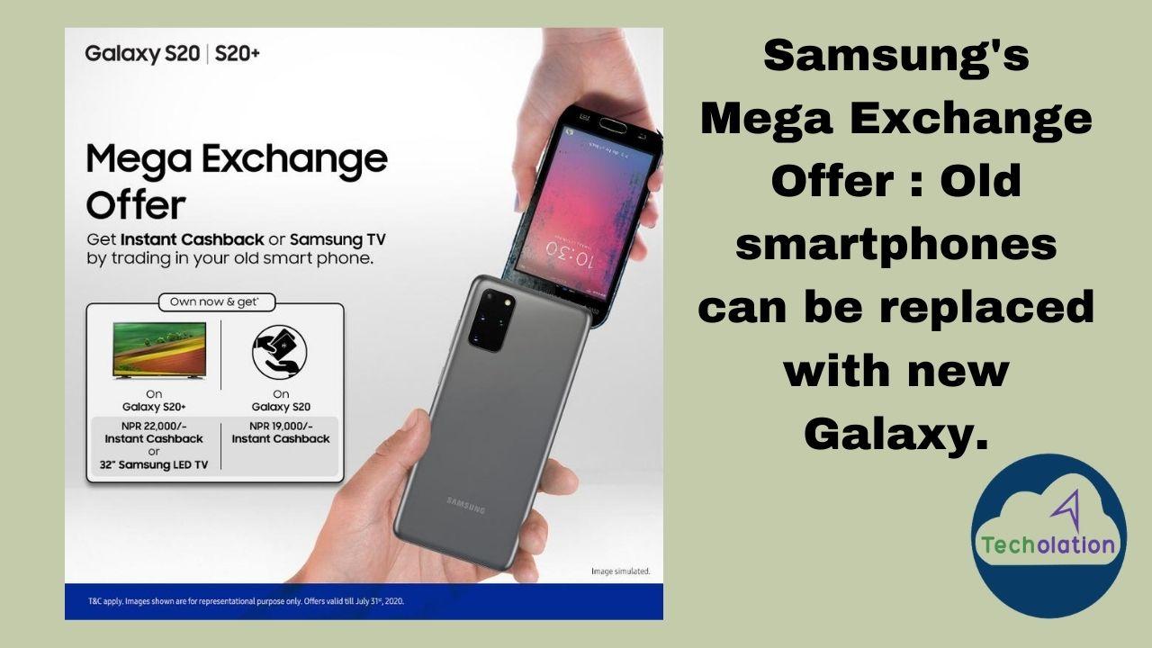 Samsung's mega exchange offer
