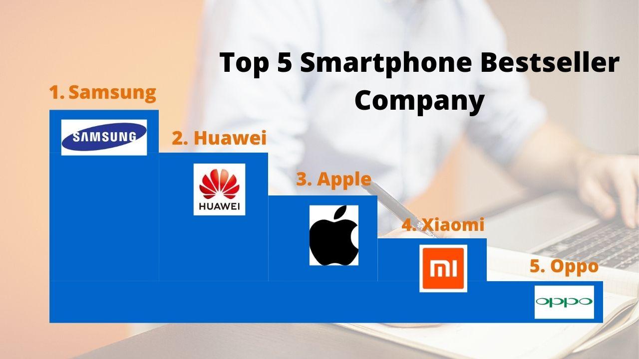Top 5 bestseller smartphone company