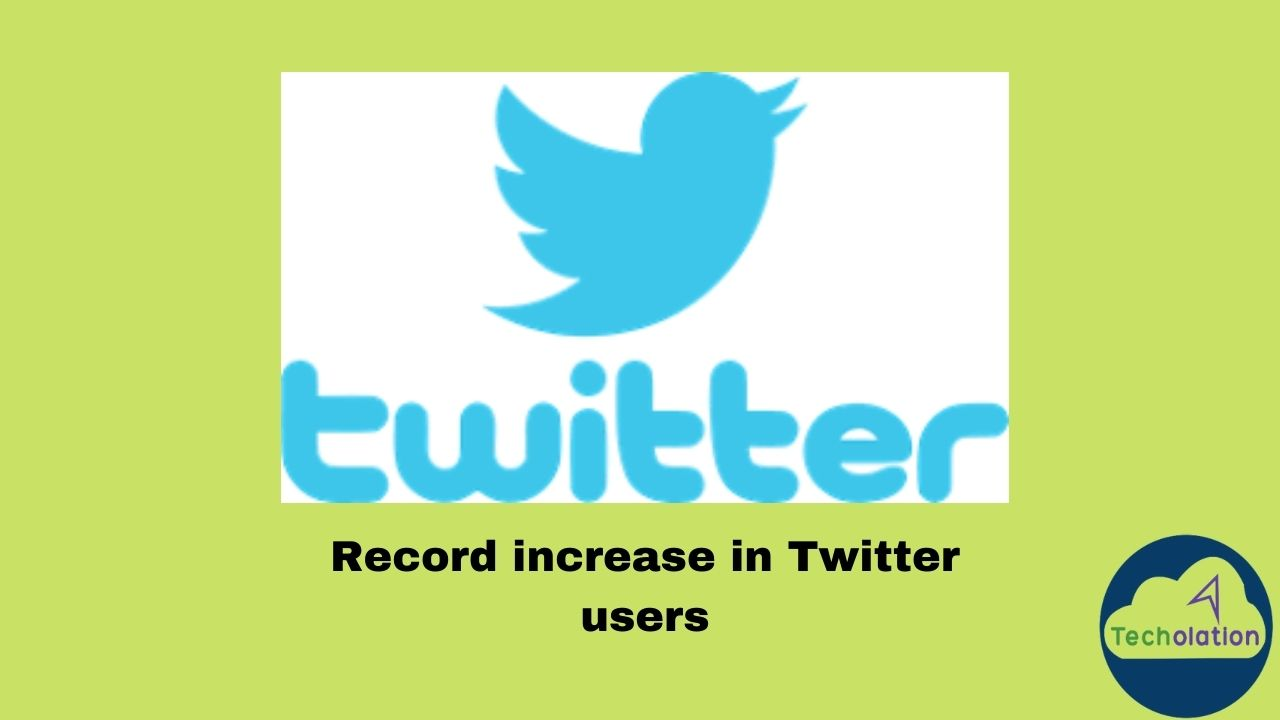 Twitter users increase