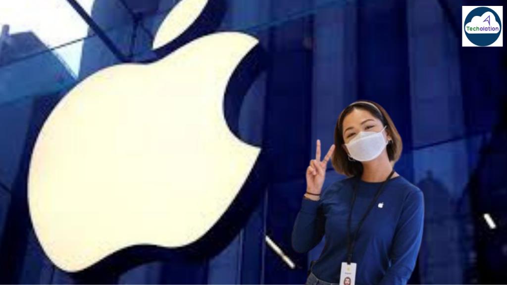 apple design face mask