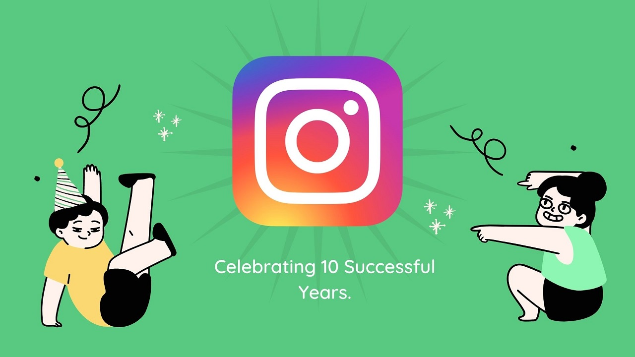 10 successful years of Instagram