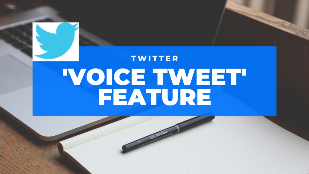 Twitter has launched the 'Voice Tweet' feature